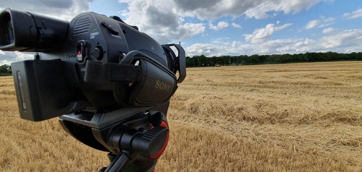 camera in field