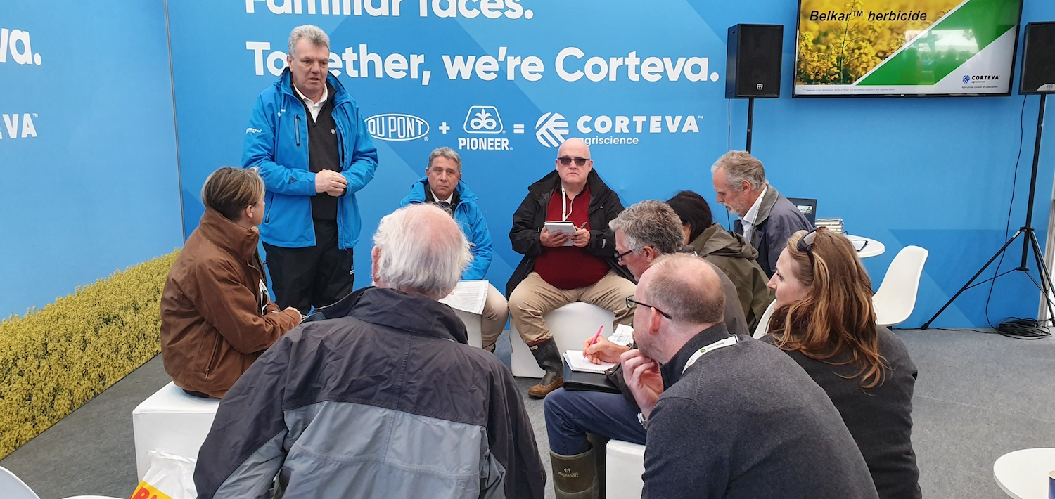 Group of people at Corteva
